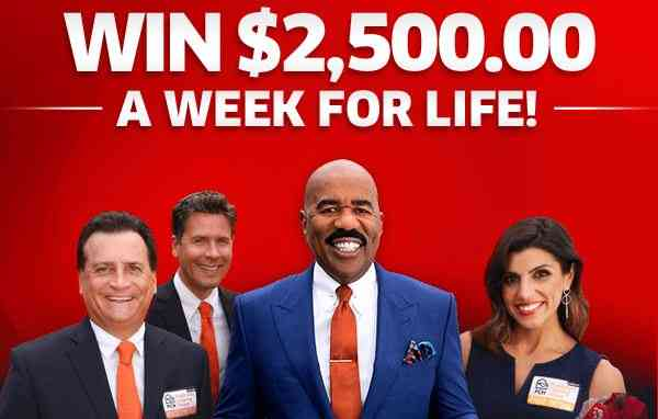 PCH Win $2,500 A Week For Life Sweepstakes