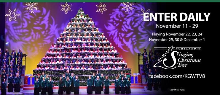 Portlands Singing Christmas Tree Sweepstakes – Win Four Tickets