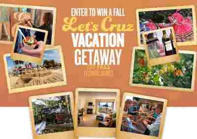 Santa Cruz County Let's Cruz Vacation Giveaway