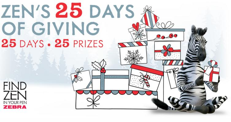 Zen 25 Days Of Giving Sweepstakes