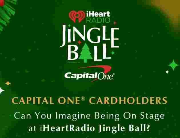 iHeartRadio's Jingle Ball Capital One Ultimate Fan Sweepstakes
