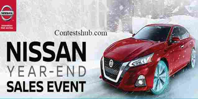 Nissan Black Friday Calender Year End Event Sweepstakes