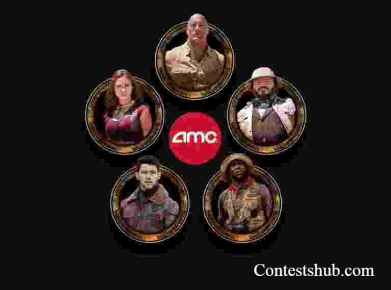 AMC Jumanji The Next Level Adventure Game Sweepstakes