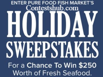 Pure Food Fish Market Holiday Giveaway