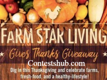 Farm Star Living Gives Thanks Giveaway