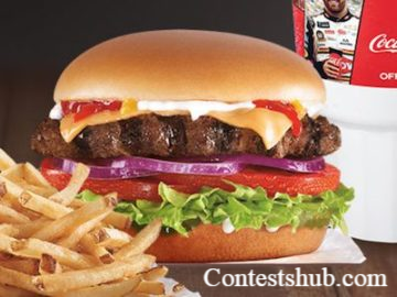 Taste Victory at Hardees Sweepstakes
