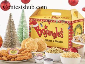 Bojangles' Holiday Bonus Contest