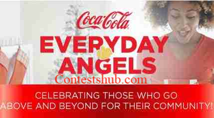 Everyday Angels Coca-Cola Contest