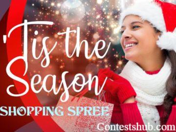 Tis the Season Shopping Spree Sweepstakes