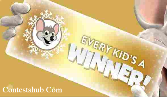 Chuck E. Cheese Every Kid Is A Winner Game Sweepstakes