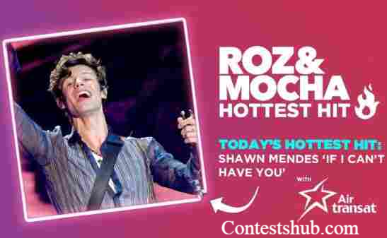 KISS Roz & Mocha Hottest Hit With Air Transat Contest