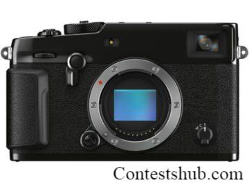 Fujifilm X-Pro3 Camera Giveaway