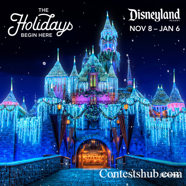 KYXY 96.5 Disneyland Holidays Sweepstakes