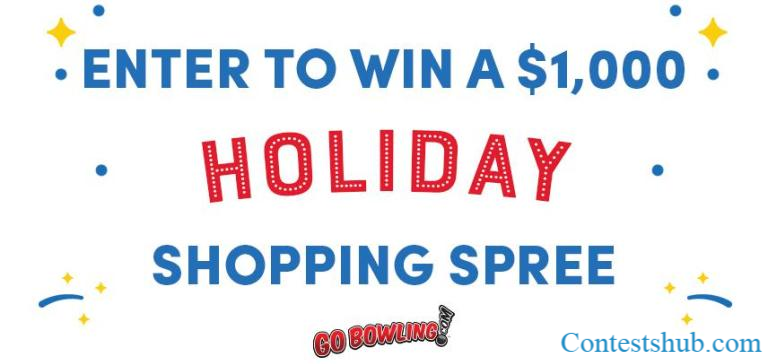 GoBowling com Holiday Shopping Spree Giveaway