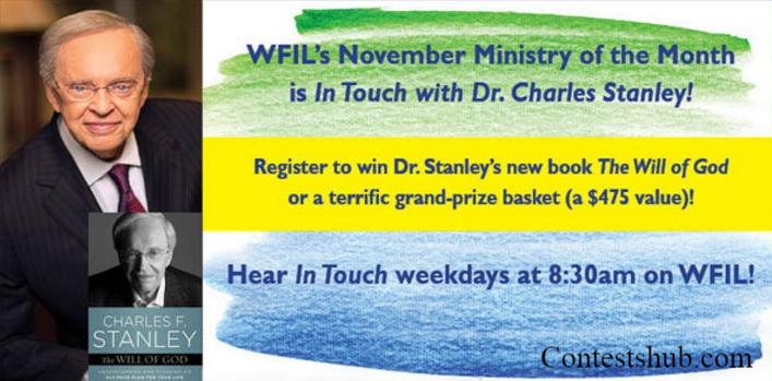 Touch With Charles Stanley Sweepstakes