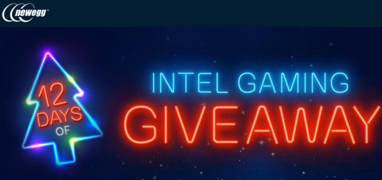 12 Days Of Intel Gaming Giveaway