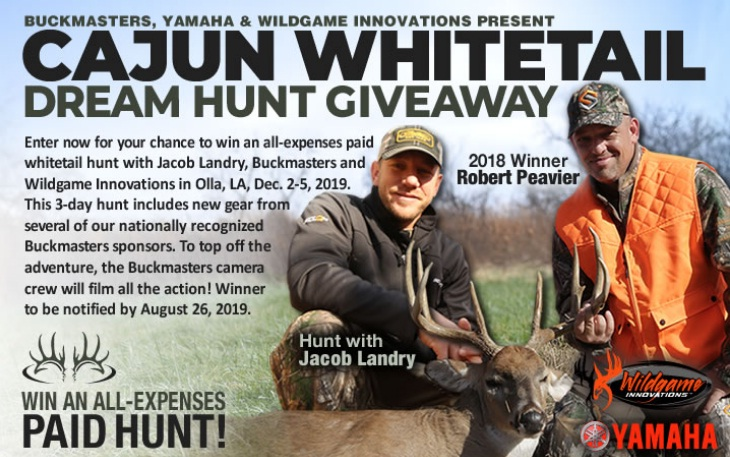 Buckmasters Montana Whitetail Hunt Giveaway