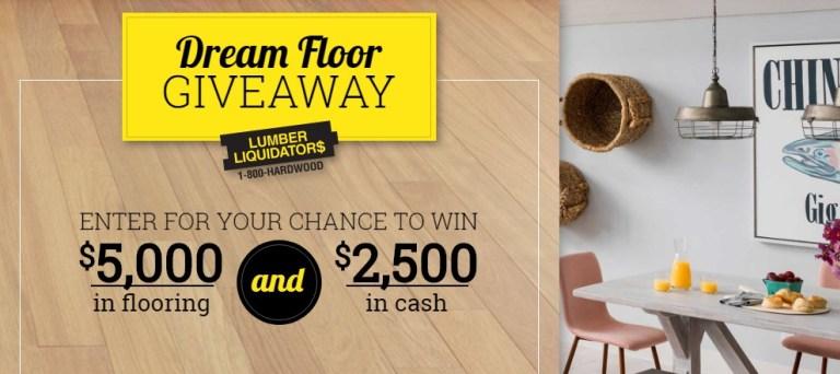 Lumber Liquidators Dream Floor 2020 Giveaway