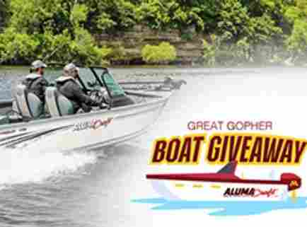 Gopher Sports Alumacraft Boat Great Gopher Boat Giveaway