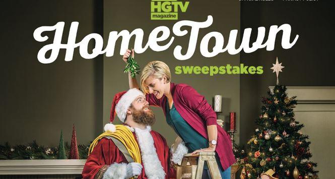 HGTV Magazine Home Town $5,000 Decor Sweepstakes