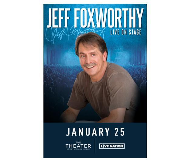BIG 100 Jeff Foxworthy Tickets Contest