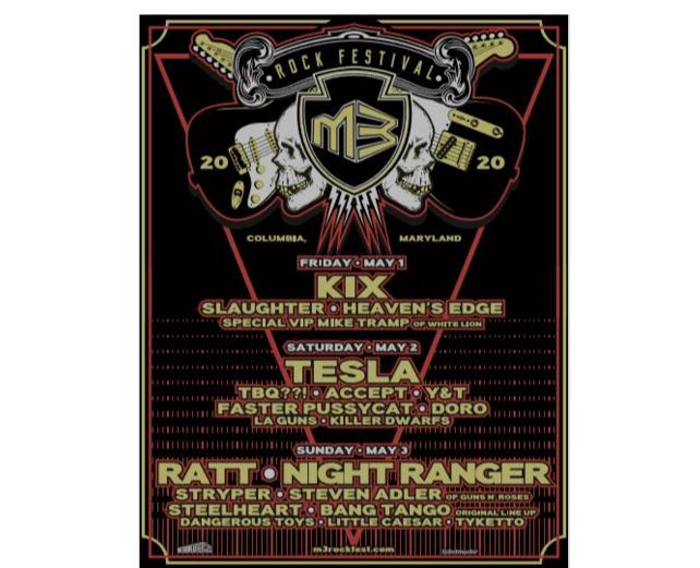 M3 Rock Festival Tickets Giveaway