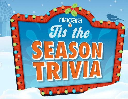 Niagara Tis The Season Trivia Sweepstakes
