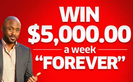 PCH Win $5000 A Week Forever Sweepstakes 2020