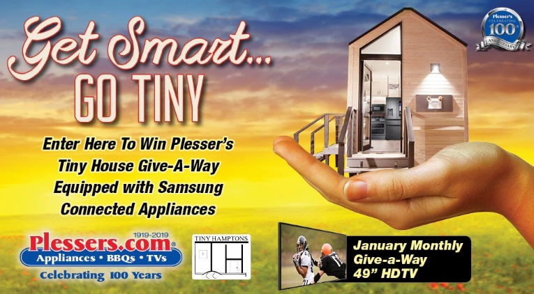 Plesser's Appliances Get Smart Go Tiny Giveaway