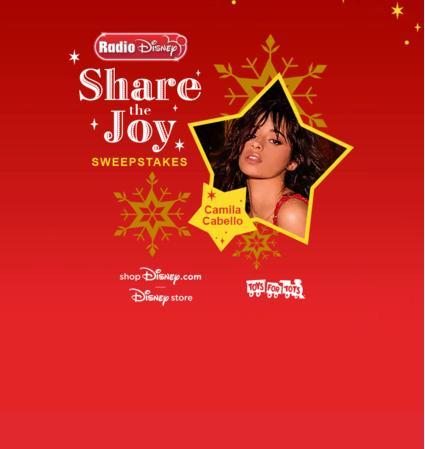 Radio Disney Share The Joy Sweepstakes