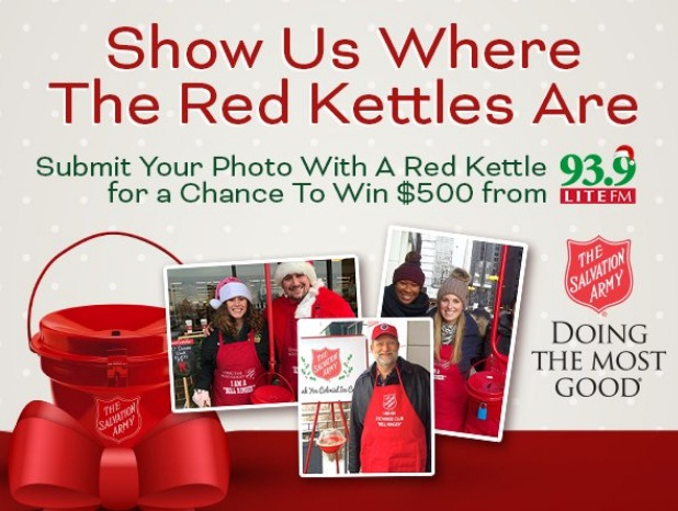 93.9 LITE FM Red Kettle Photo Contest