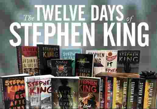 12 Days of Stephen King Sweepstakes