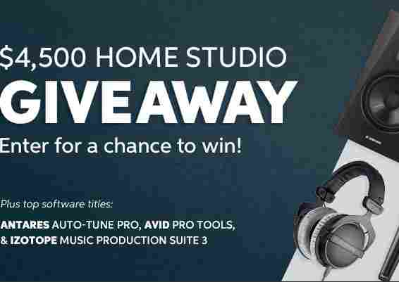 Sweetwater $4500 Home Studio Giveaway