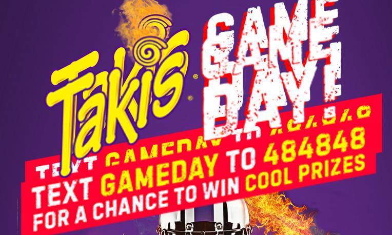 Takis Game Day Fiesta Sweepstakes