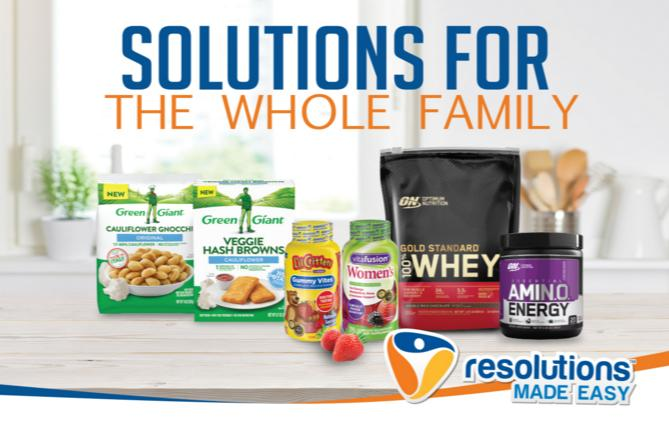 The Resolutions Made Easy Sweepstakes