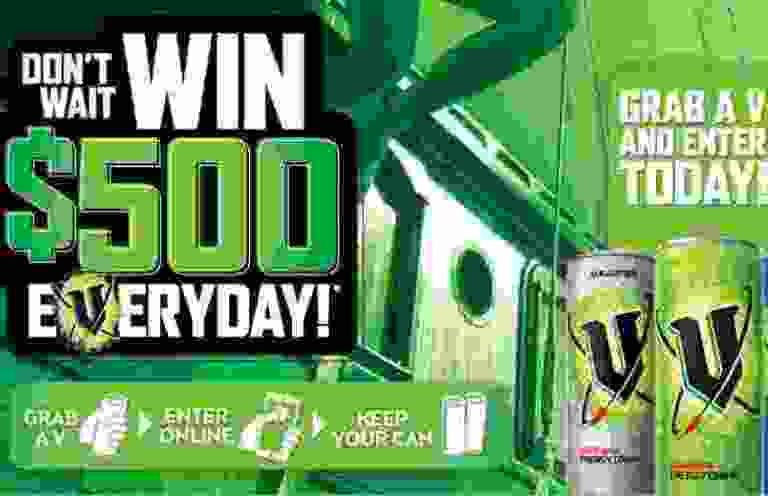 V Energy Summer Off Pack Competition Sweepstakes