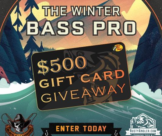 Winter Bass Pro Gift Card Giveaway