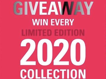 2020 Collections Giveaway