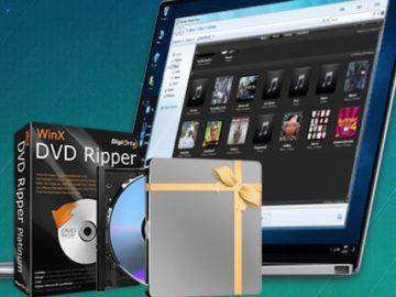 WinXDVD USB Drive Giveaway