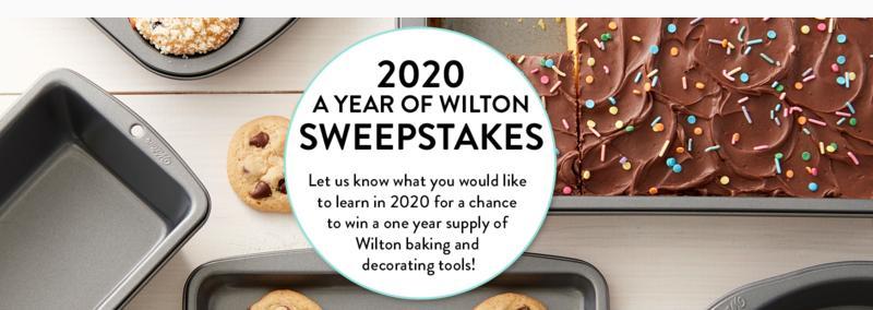 Wilton Sweepstakes