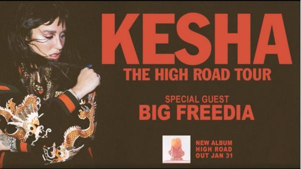Kesha The High Sweepstakes