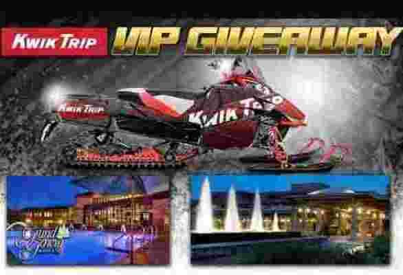 Kwik Trip Snowmobile Giveaway