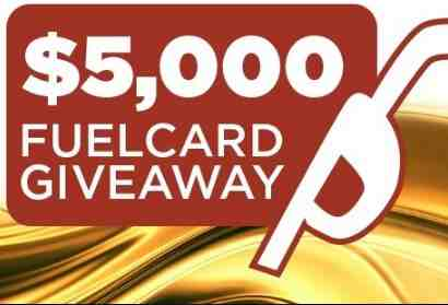 Lazydays Fuel Card Giveaway