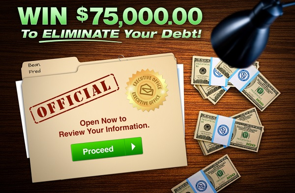 PCH Eliminate Your Debt Giveaway