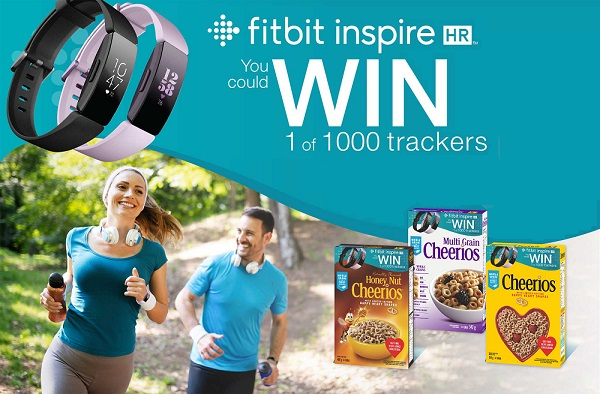 Cheerios Fitbit Promotion Contest