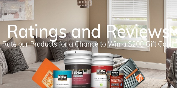 Behr Rate Sweepstakes