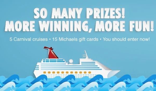 Carnival Michaels Sweepstakes