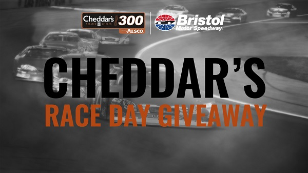 Cheddar's Race Day Giveaway