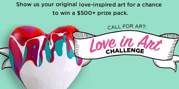 Dickblick Love In Art Challenge Contest