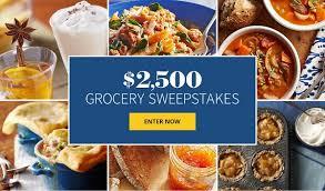 BHG Grocery $2500 Sweepstakes 2020